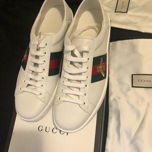 Gucci White Ace Sneaker Men's